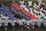 少年野球千葉県選手権(ろうきん旗)大会 開会式