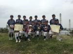 Bチーム 日ハム旗杯関東学童軟式野球千葉県大会 優勝!