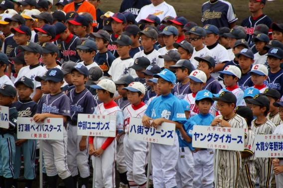千葉県少年野球低学年(ロッテ旗)大会 開会式