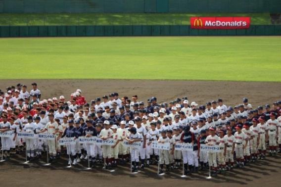 関東学童軟式野球千葉県大会開会式